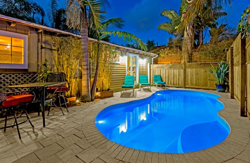 Vacation rental pool at Seabreeze Vacation Rentals, LLC.