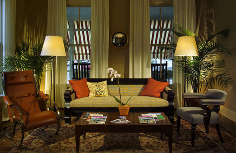 Living Area at the Hotel Fauchere
