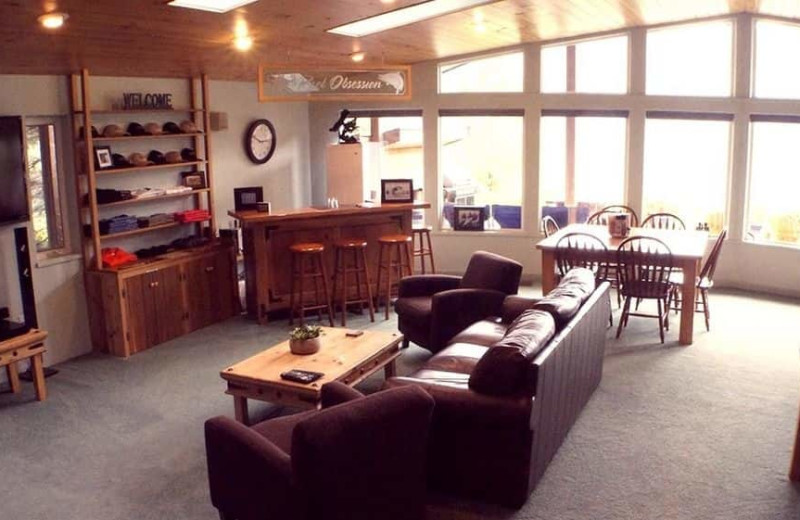 Lobby at Reel Obsession Sport Fishing.