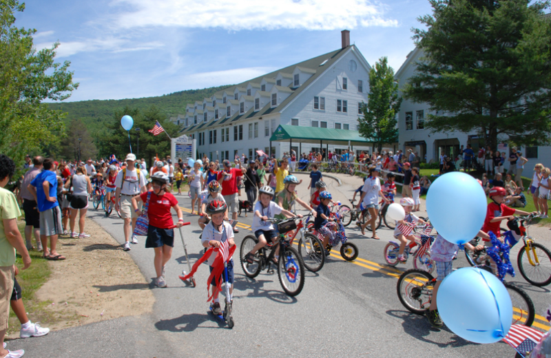 Fourth of July at Waterville Valley Resort.