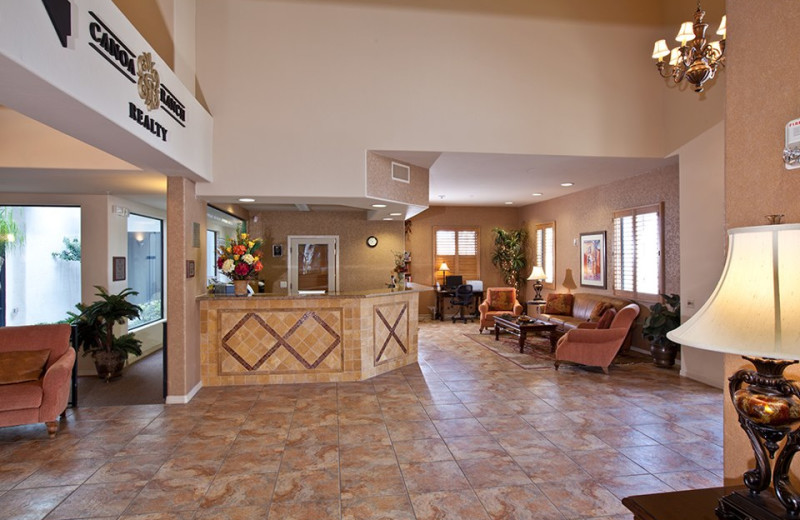 Resort Lobby at Wyndham Ranch Resort