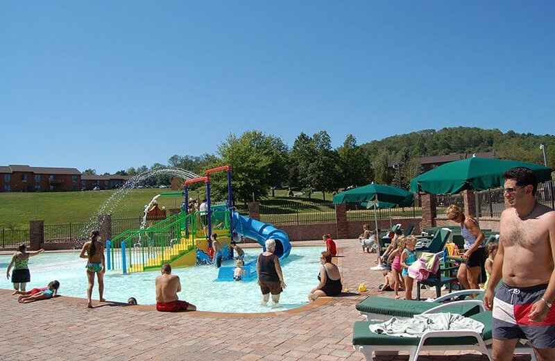 Water park at Villa Roma Resort and Conference Center.
