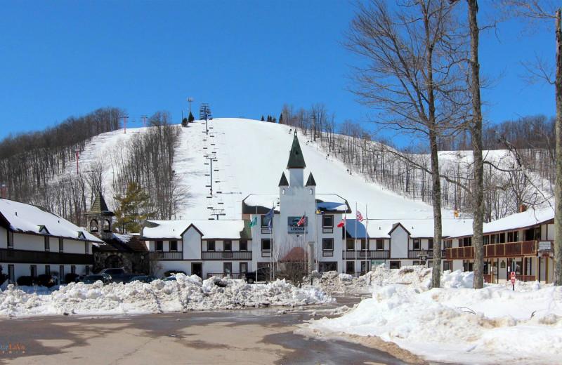 Ski at Hawk's Eye Golf Resort.