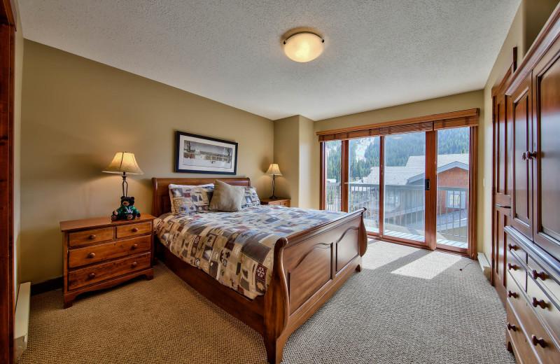 Rental bedroom at Bear Country Property Management (2018) Ltd.