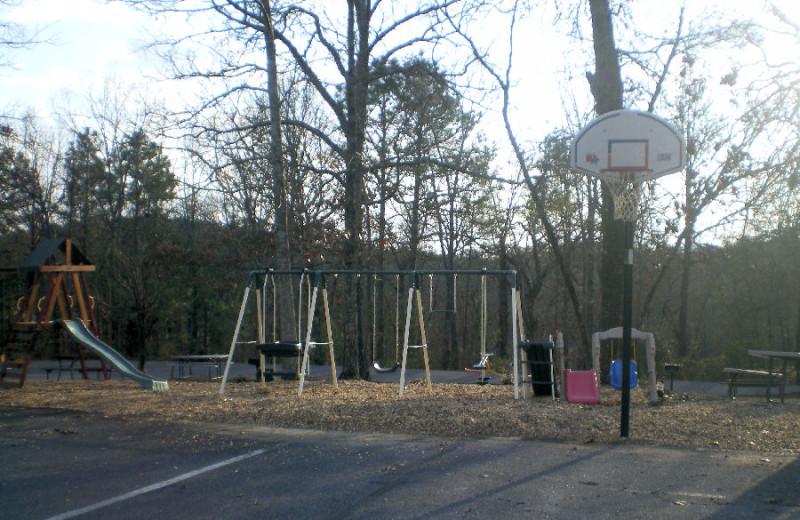 Playground at Dogwood Hills at Alpine Bay.