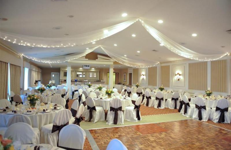 Wedding reception at The Margate on Winnipesaukee.
