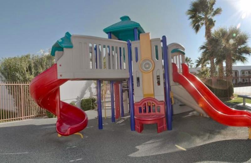 Kid's playground at St. George Inn & Suites.