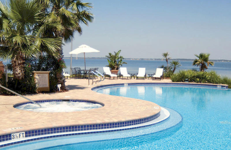 Pool View at Portofino Island Resort