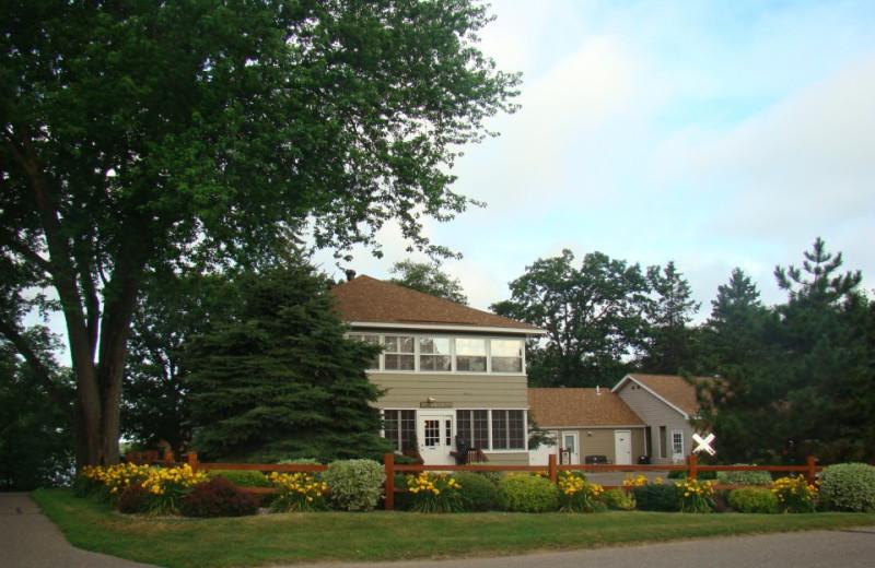 Grand Lodge at Train Bell Resort.