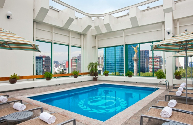 Indoor pool at Sheraton Maria Isabel Hotel and Towers.