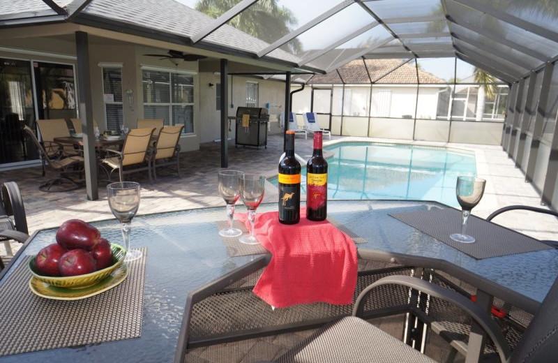 Rental pool at MHB Property Management.
