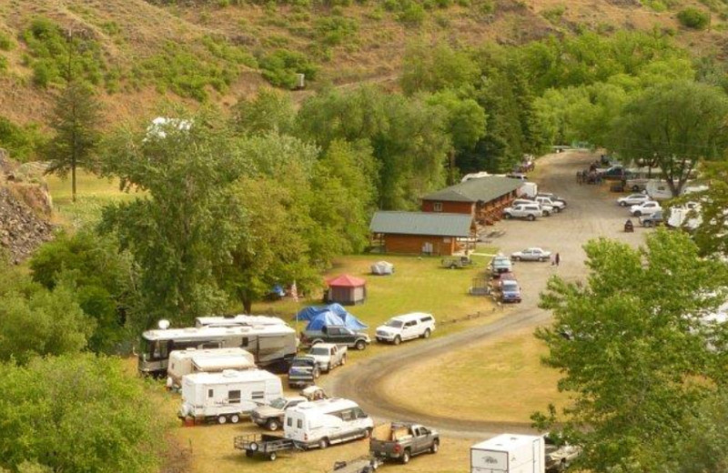 Aerial View of Hells Canyon Jet Boat Trips