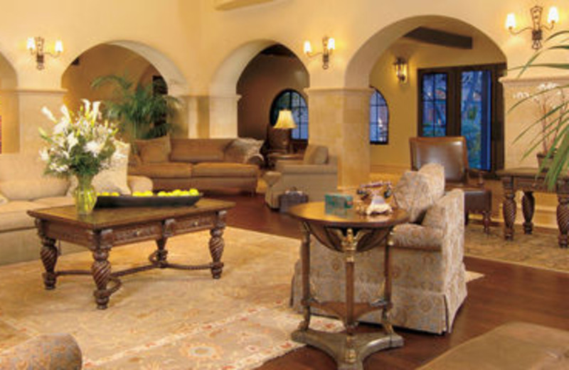 Resort Lobby at Rancho Las Palmas Resort