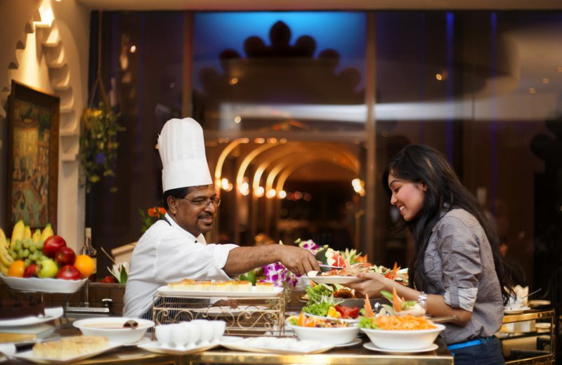 Dining at The Pan Pacific Sonargaon.