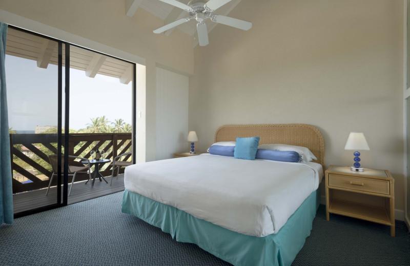 Guest room at Divi Southwinds Resort.