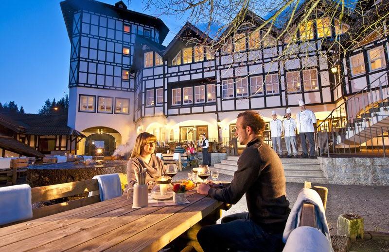 Dining at Dorint Hotel & Resort Winterberg-Neuastenberg.