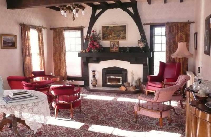 Lobby at Barnett Lodge.