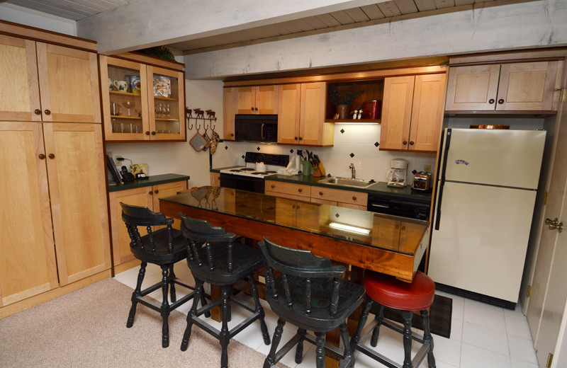Rental kitchen at Frias Properties of Aspen - Chateau Dumont #2.