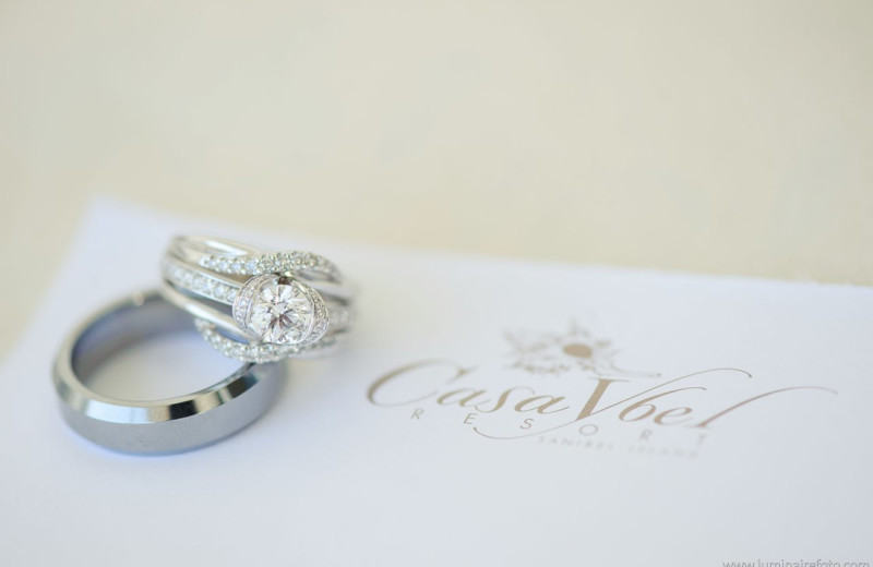 Wedding ring at Casa Ybel Resort.