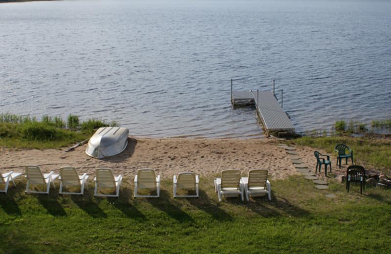 The beach at Birch Bay Resorts.