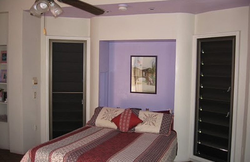 Guest room at The Barnacle Bed and Breakfast.