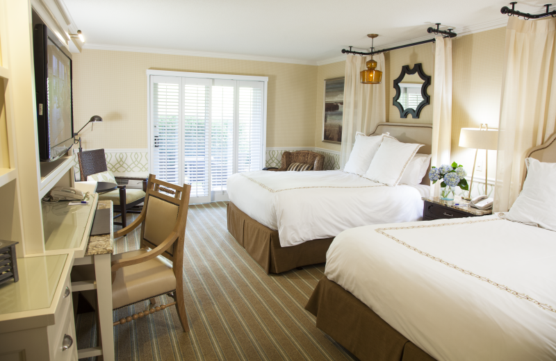 Guest room at Ocean Edge Resort & Club on Cape Cod.