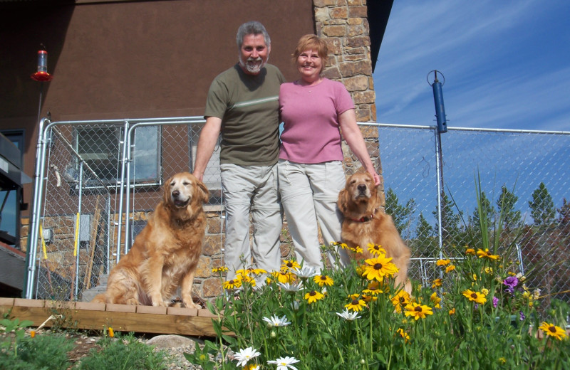 Pets welcome at Williams Fork Lodging.