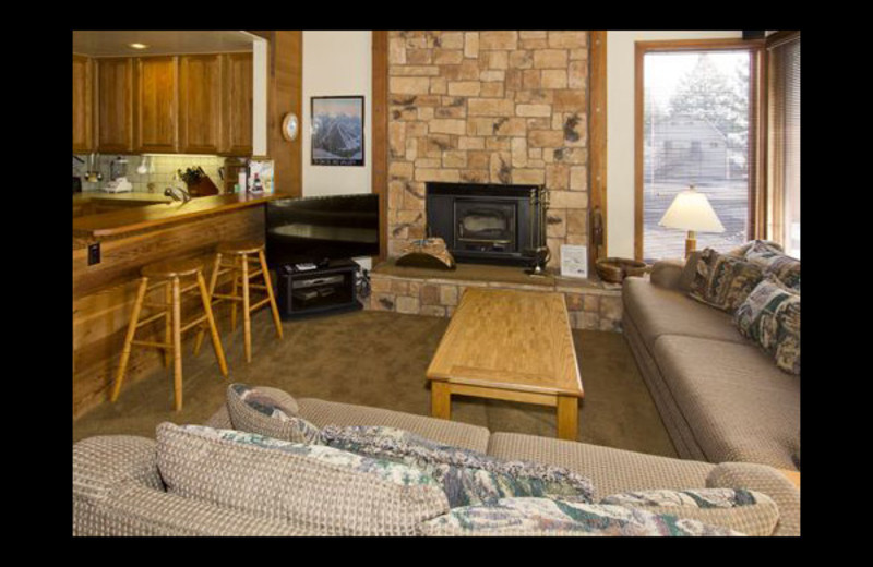 Vacation rental interior at JetLiving.