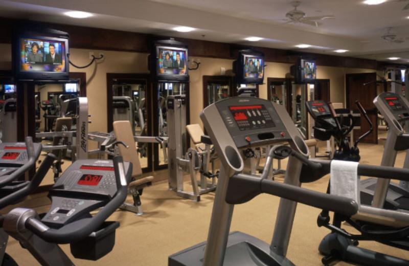 Fitness Center at Hyatt Regency
