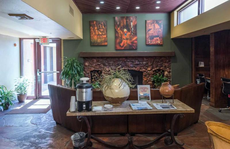 Lobby at Best Western Plus Inn of Sedona.