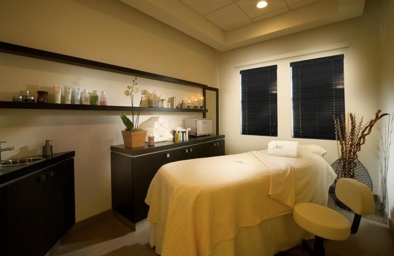 The spa at Hyatt Miami at The Blue.
