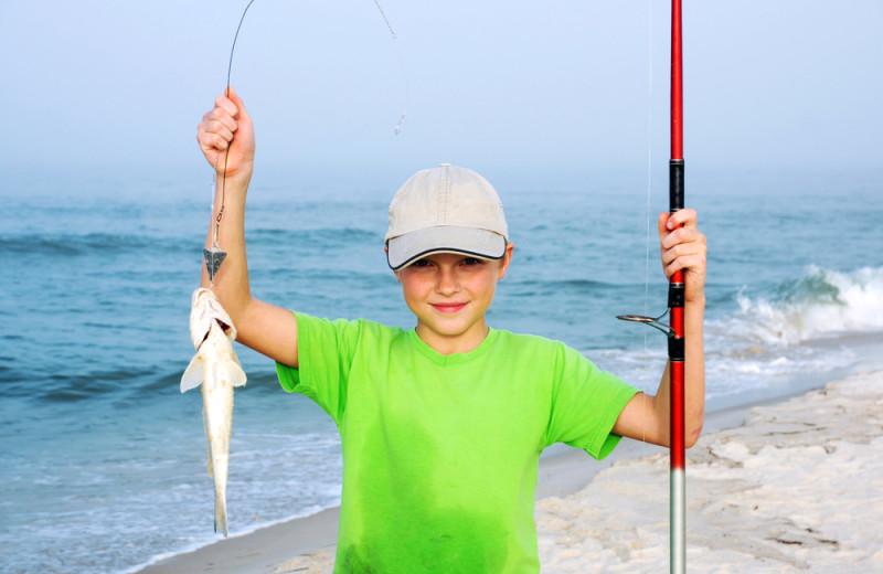 Fishing at Resort Destinations.
