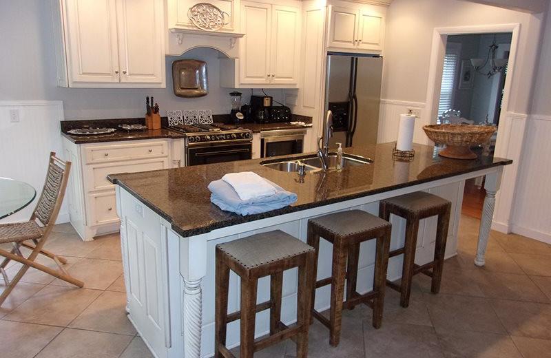 Rental kitchen at SSI Fun.