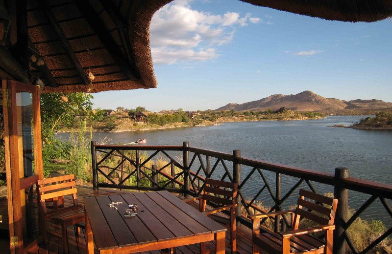 View from Lake Oanob Resort.