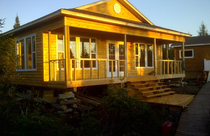 Exterior view of Igloo Lake Lodge.