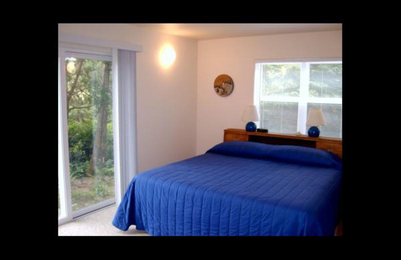 Rental bedroom at Manzanita Rental Company.