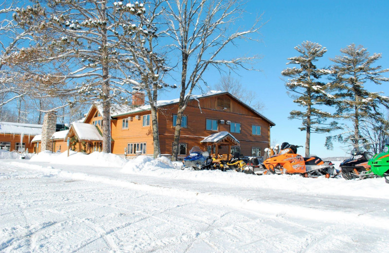 Winter at Big Sandy Lodge & Resort.