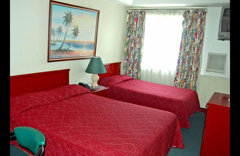 Guest room at Casa Morazan.