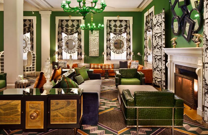 Lobby at Hotel Monaco Washington D.C.