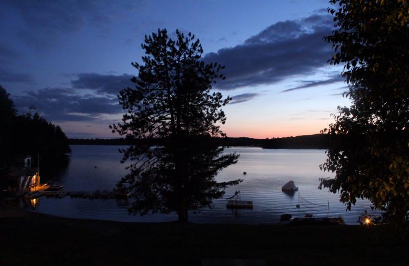 Lake view at Lumina Resort.
