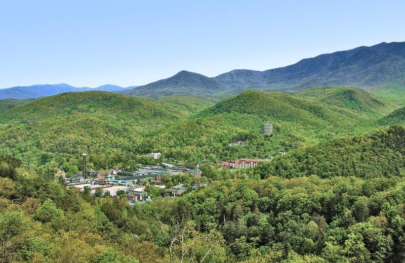Arial View at  Glenstone Lodge
