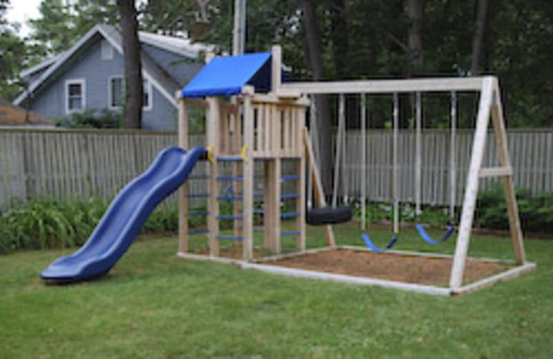 Kids Playground at Beachmere Inn