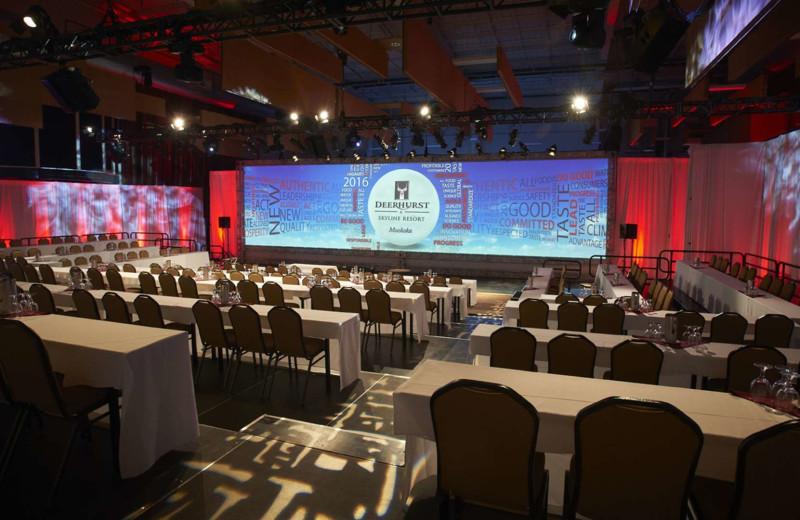 Conference room at Deerstalker Resort.