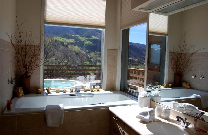 Rental bathroom at Frias Properties of Aspen - Terman House.