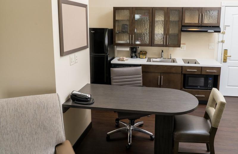 Guest room at Candlewood Suites - Stevensville.