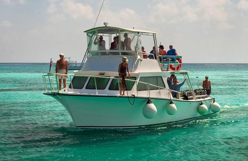 Diving at Little Cayman Beach Resort.