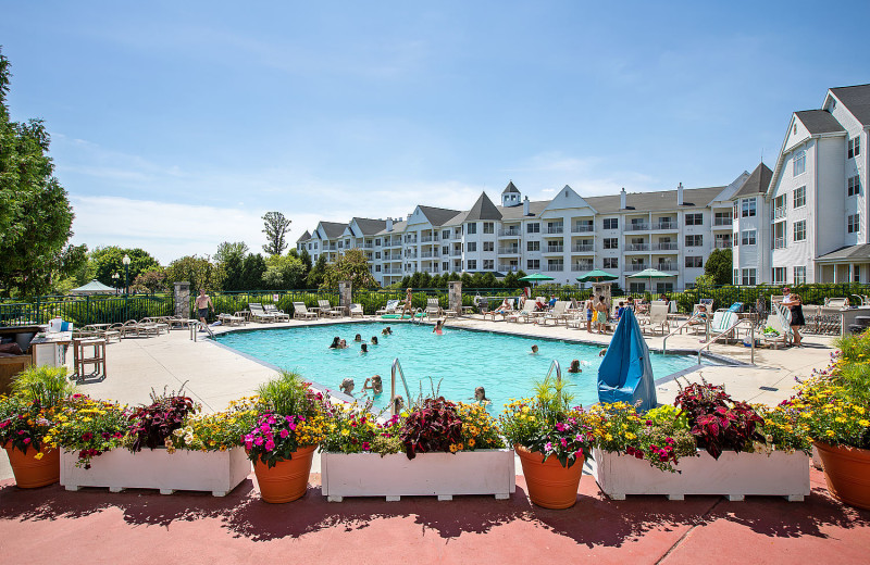 Outdoor pool at The Osthoff Resort.