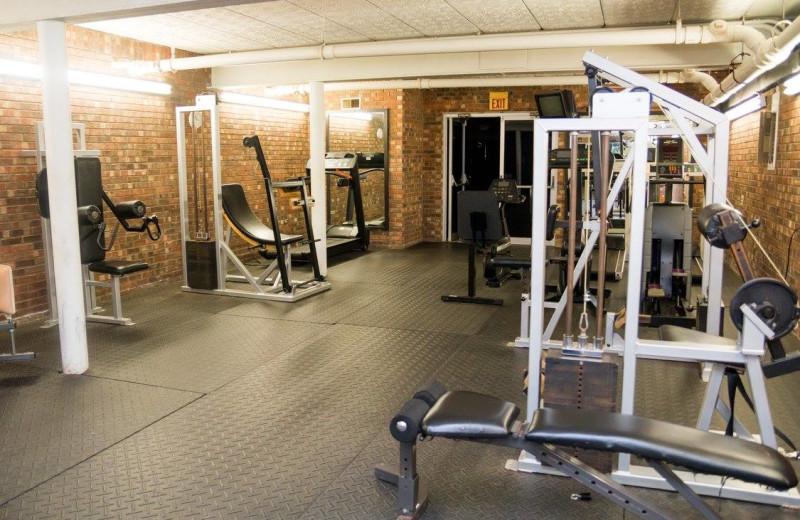 Gym at Bright Leaf Golf Resort.