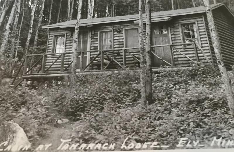 Historic photo of Tamarack Resort.