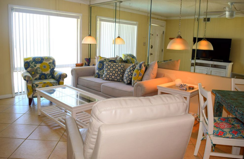 Rental living room at Alicia J. Hollis, Realtor.